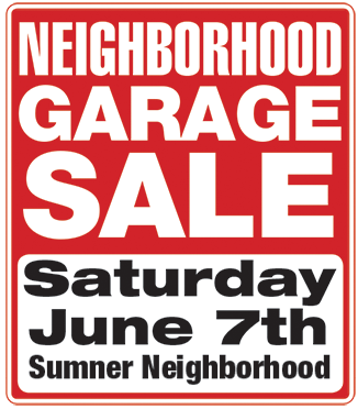 garage sale – Sumner Association of Neighbors (SAN)