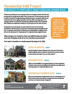 Click to read the full Residential Infill booklet.